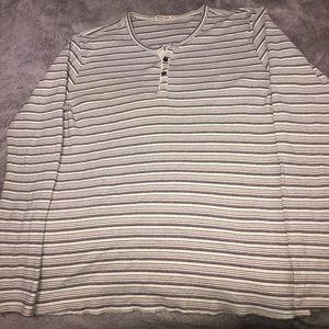 Marine Layer Striped Long sleeve Shirt